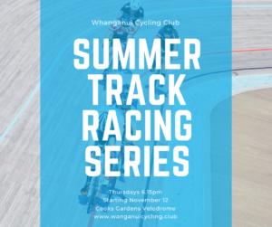 Track Summer Series @ Cooks Gardens Velodrome, Whanganui